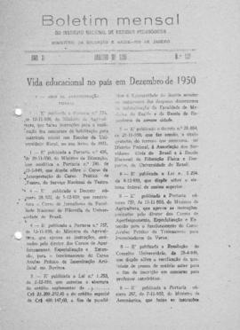CBPE_m117p01 - Boletins Mensais do INEP, 1950-1951