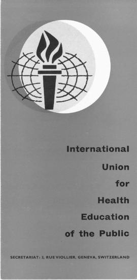 CBPE_m178p05 - Panfleto sobre a International Union For Health Education e o Texto: Lazer no Contexto Sociocultural de Brasília, 1974