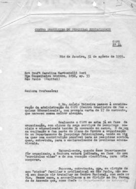 CBPE_m128p02 - Documentos Diversos referente à Organização do CBPE, 1954 - 1955