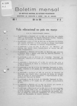 CBPE_m108p01 - Boletins Mensais do INEP, 1944