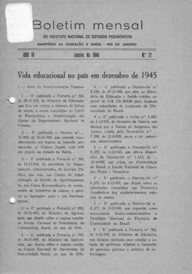 CBPE_m107p01 - Boletins Mensais do INEP, 1946 - 1947
